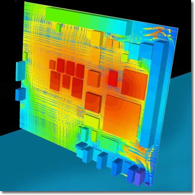 户可以在几分钟内对其电路板的热模型进行分析和优化